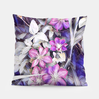 Thumbnail image of clematis flowers Poduszka, Live Heroes