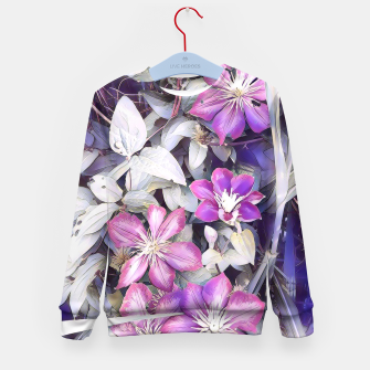 Thumbnail image of clematis flowers Bluza dziecięca, Live Heroes