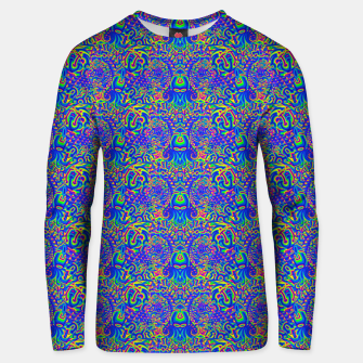 Thumbnail image of dark portal pattern Unisex sweater, Live Heroes