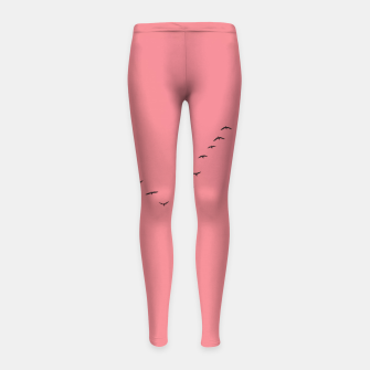 Miniatur V shape Girl's leggings, Live Heroes