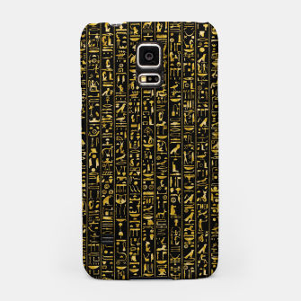 Thumbnail image of Hieroglyphics GOLD Ancient Egyptian Hieroglyphic Symbols Samsung Case, Live Heroes