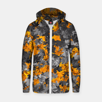 Thumbnail image of Autumn Zip up hoodie, Live Heroes