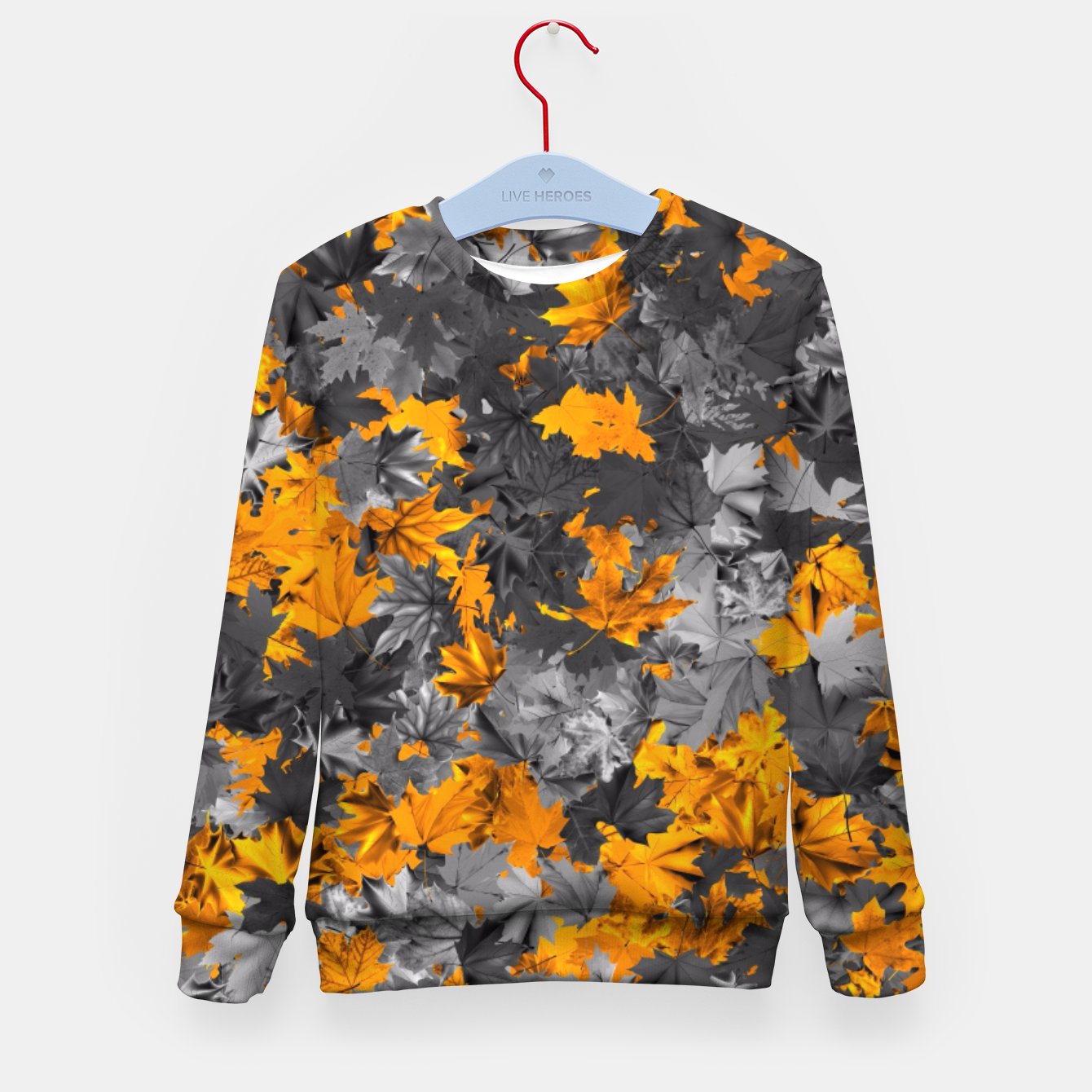 Image of Autumn Kid's sweater - Live Heroes
