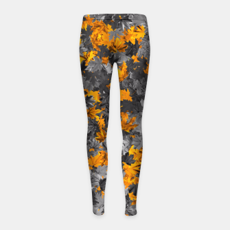 Thumbnail image of Autumn Girl's leggings, Live Heroes