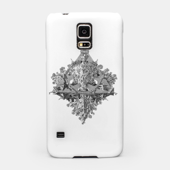 Thumbnail image of Fashion art and decor items of MC Escher Tri Dimensional Litography Samsung Case, Live Heroes