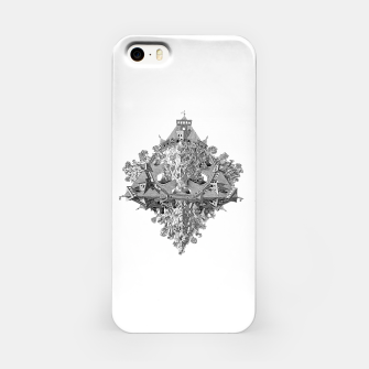 Thumbnail image of Fashion art and decor items of MC Escher Tri Dimensional Litography iPhone Case, Live Heroes