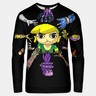 Thumbnail image of Legend Of Zelda Unisex sweater, Live Heroes