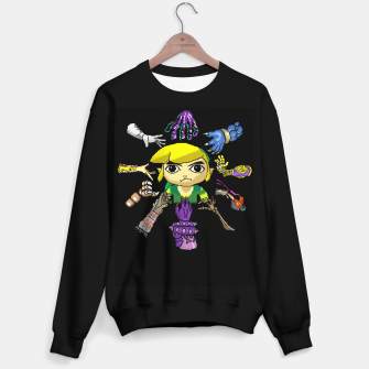 Thumbnail image of Legend Of Zelda Sweater regular, Live Heroes