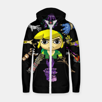 Miniatur Legend Of Zelda Zip up hoodie, Live Heroes