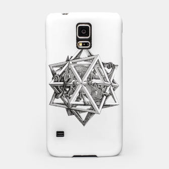 Thumbnail image of Fashion art and decor items of MC Escher Kaleidoscope Chameleon in a cage Samsung Case, Live Heroes