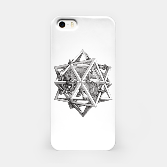 Thumbnail image of Fashion art and decor items of MC Escher Kaleidoscope Chameleon in a cage iPhone Case, Live Heroes