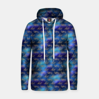 Thumbnail image of Blue and Gold Mermaid Glitter Sea Monsters Hoodie, Live Heroes