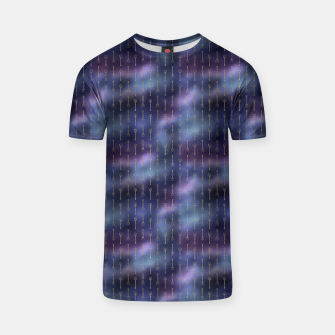 Thumbnail image of Purple Blue and Gold Mermaid Glitter Tridents T-shirt, Live Heroes