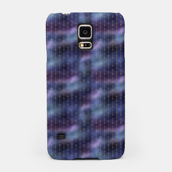 Thumbnail image of Purple Blue and Gold Mermaid Glitter Tridents Samsung Case, Live Heroes