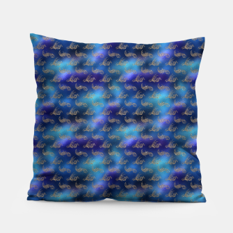 Miniaturka Blue and Gold Mermaid Glitter Sea Monsters Pillow, Live Heroes