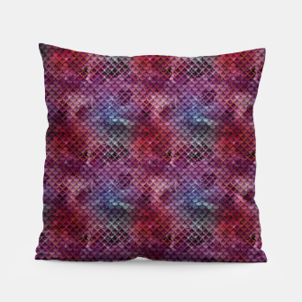 Miniatur Purple and Pink Mermaid Glitter Scales Pillow, Live Heroes