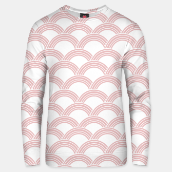 Japanese Wave Blush Glam #1 #decor #art  Unisex sweatshirt Bild der Miniatur
