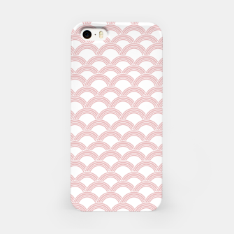 Japanese Wave Blush Glam #1 #decor #art  iPhone-Hülle Bild der Miniatur