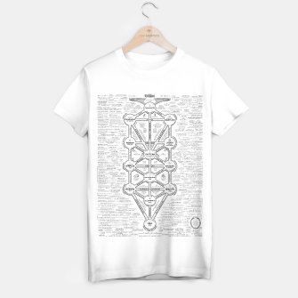 Thumbnail image of fashion art and decor items of Cult of Baal infographic tree T-shirt regular, Live Heroes