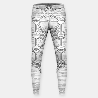 Thumbnail image of fashion art and decor items of Cult of Baal infographic tree Sweatpants, Live Heroes