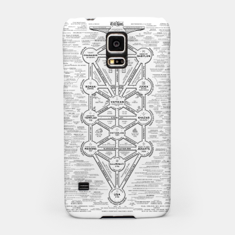 Thumbnail image of fashion art and decor items of Cult of Baal infographic tree Samsung Case, Live Heroes