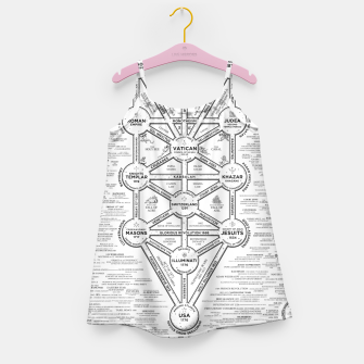 Thumbnail image of fashion art and decor items of Cult of Baal infographic tree Girl's dress, Live Heroes