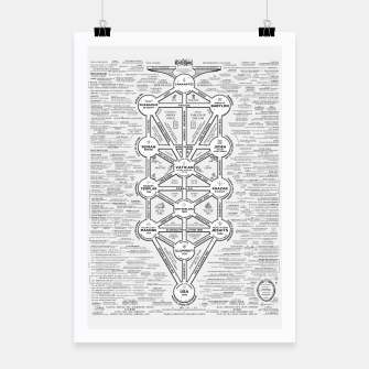 Thumbnail image of fashion art and decor items of Cult of Baal infographic tree Poster, Live Heroes