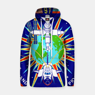 Thumbnail image of Fashion items and decor art of Nasa, Space Shuttle Mission 91 Logo Hoodie, Live Heroes