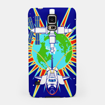 Miniaturka Fashion items and decor art of Nasa, Space Shuttle Mission 91 Logo Samsung Case, Live Heroes