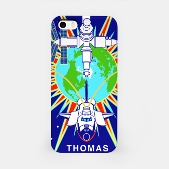 Miniaturka Fashion items and decor art of Nasa, Space Shuttle Mission 91 Logo iPhone Case, Live Heroes