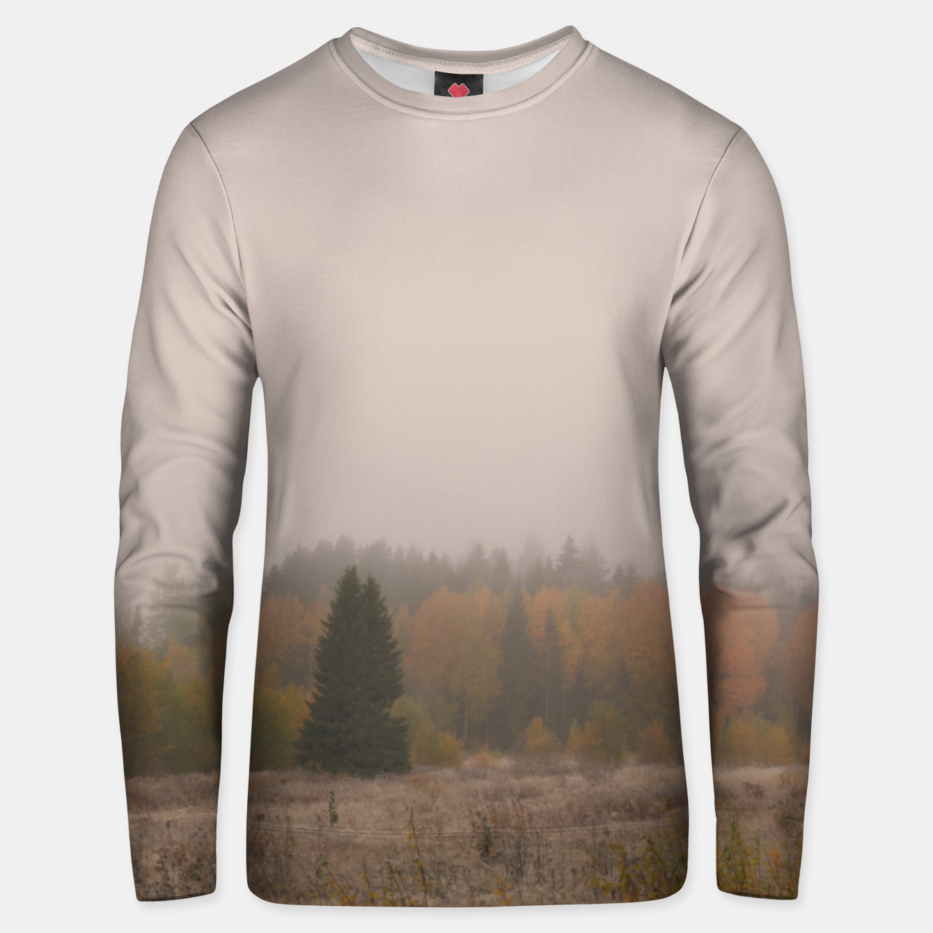 Foto Autumn frost Unisex sweater - Live Heroes