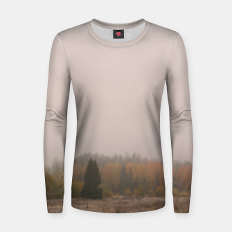 Autumn frost Women sweater Bild der Miniatur