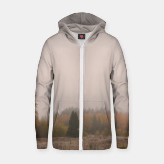 Autumn frost Zip up hoodie Bild der Miniatur