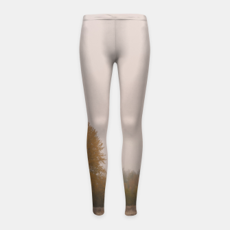 Autumn frost Girl's leggings Bild der Miniatur