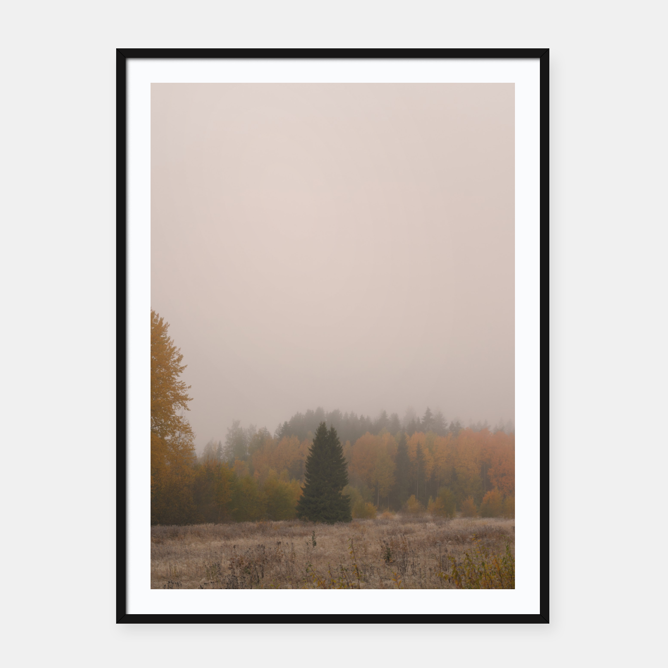 Foto Autumn frost Framed poster - Live Heroes