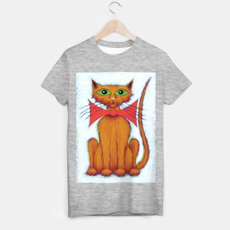 Thumbnail image of Ginger cat T-shirt regular, Live Heroes