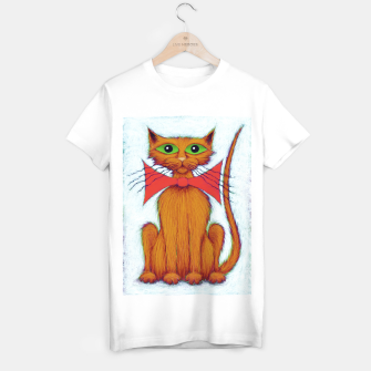 Miniatur Ginger cat T-shirt regular, Live Heroes