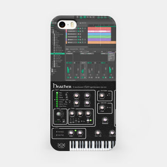 Miniature de image de Fashion art and Decor items of Synth Vsti and Daw, audiophile  iPhone Case, Live Heroes