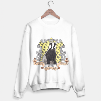 Thumbnail image of Just and Loyal~ Hufflepuff  Unisex Sweater , Live Heroes
