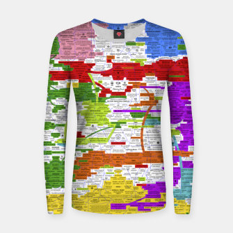 Thumbnail image of Fashion art and Decor items of Q Key Flyer infographic Women sweater, Live Heroes