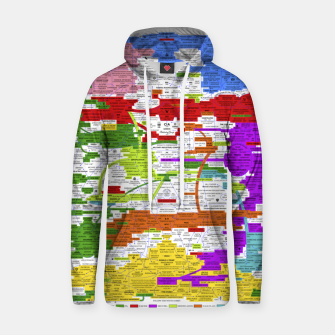 Thumbnail image of Fashion art and Decor items of Q Key Flyer infographic Hoodie, Live Heroes