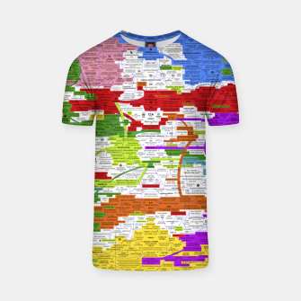Thumbnail image of Fashion art and Decor items of Q Key Flyer infographic T-shirt, Live Heroes