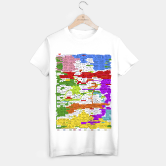 Thumbnail image of Fashion art and Decor items of Q Key Flyer infographic T-shirt regular, Live Heroes