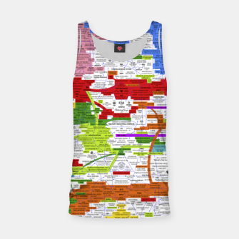 Thumbnail image of Fashion art and Decor items of Q Key Flyer infographic Tank Top, Live Heroes