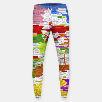 Thumbnail image of Fashion art and Decor items of Q Key Flyer infographic Sweatpants, Live Heroes
