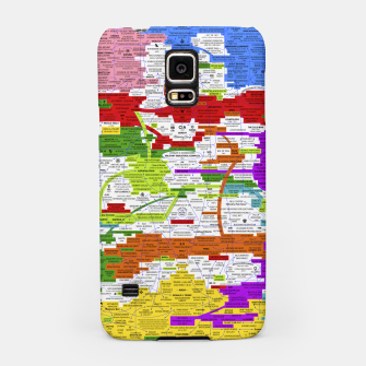 Thumbnail image of Fashion art and Decor items of Q Key Flyer infographic Samsung Case, Live Heroes
