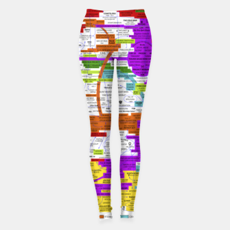 Thumbnail image of Fashion art and Decor items of Q Key Flyer infographic Leggings, Live Heroes