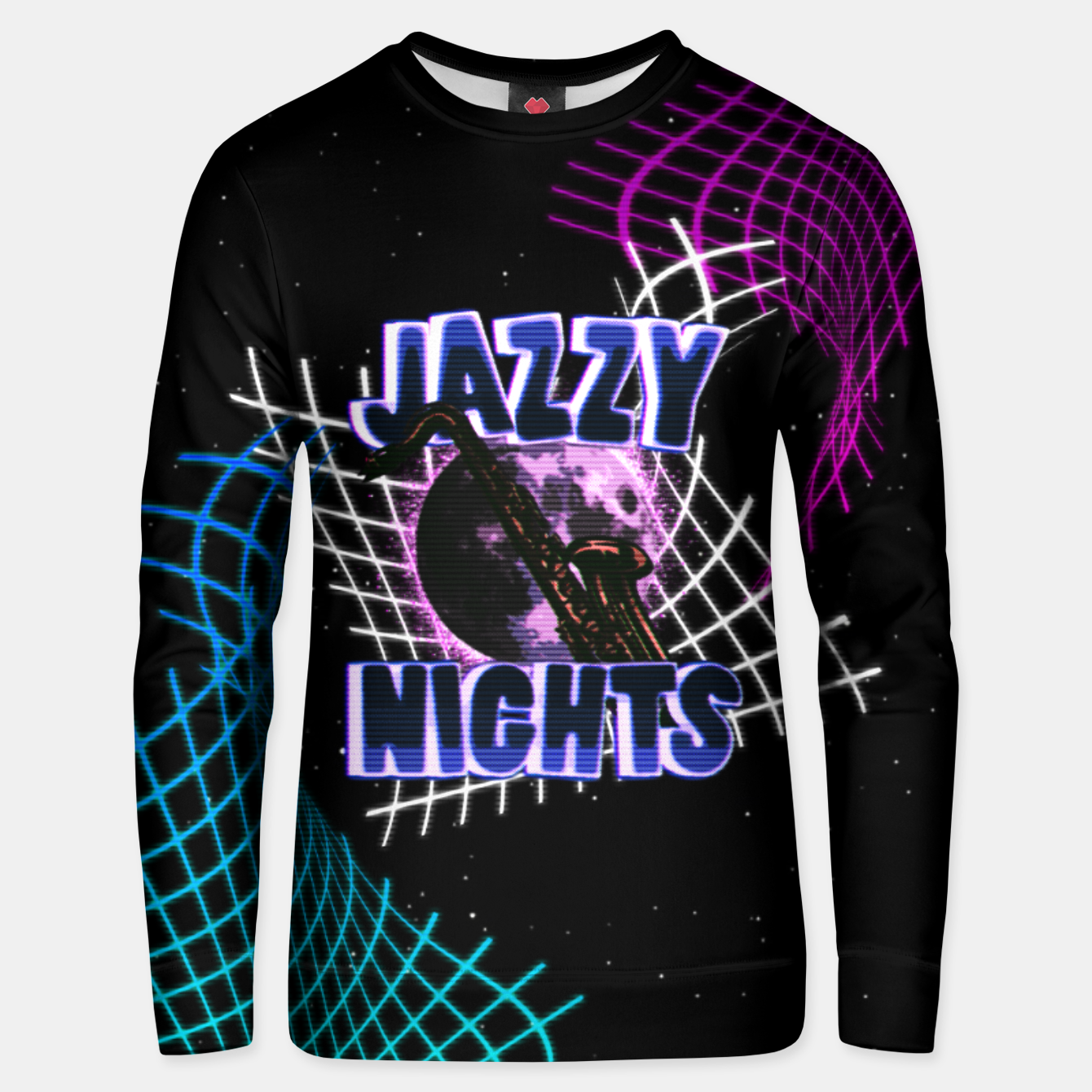 Image of jazzy nights Unisex sweater - Live Heroes