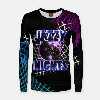 Miniatur jazzy nights Women sweater, Live Heroes