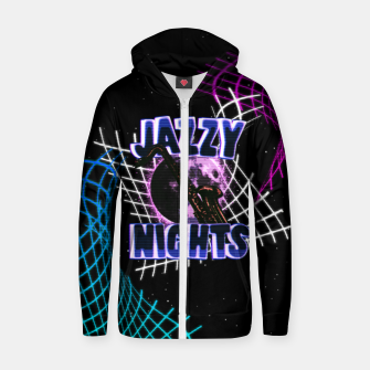 Miniatur jazzy nights Zip up hoodie, Live Heroes